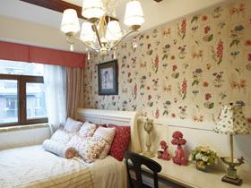 豹纹碎花混搭风 异域风情红色别墅