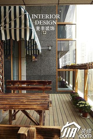 15个装修案例 打造中式休闲阳台