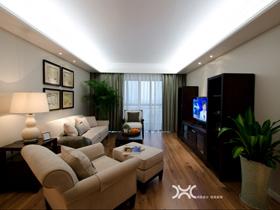 現代純凈美式 簡約敞亮公寓
