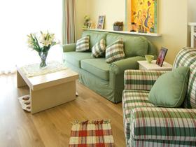 靠窗呼吸的优雅居室 混搭110平清新自然风