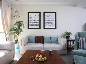 三米设计—绝色隽雅 时尚气质二居室