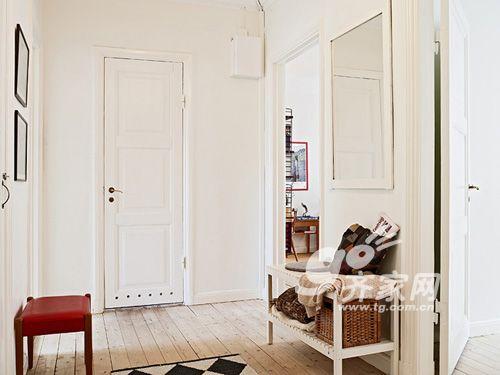 一统实木家具-温馨三口小家 67平2房纯白宜家风 全文