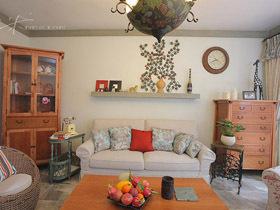 三米设计—复古风情 混搭风格舒适住宅