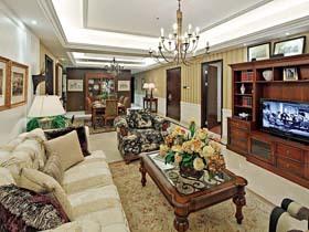 新古典富贵风 豪装美式复古公寓