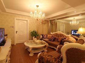 奢华简欧二居室 5万半包80平宁静空间