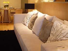 现代简约纯净风貌 平静柔和二居室