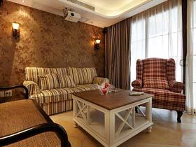 美式乡村居室 温婉细致浪漫公寓