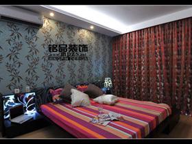 庄重典雅 富裕型简约二居室