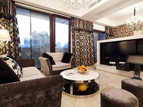 简欧式休闲公寓 简约不简单时尚不浮夸