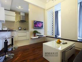 小空間大智慧 60平單身簡約公寓