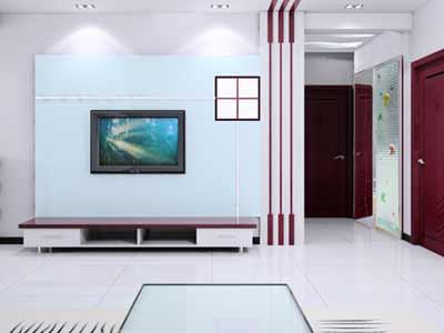 客厅墙壁那一抹风景 20款绝美电视背景墙