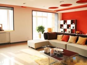 雅致公寓 玩转橙色简约风