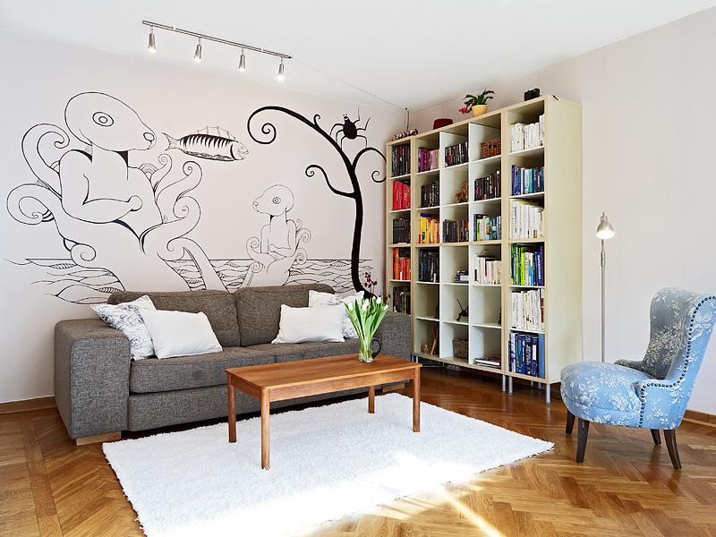 森系舒適一居室 66平米簡潔精致的公寓
