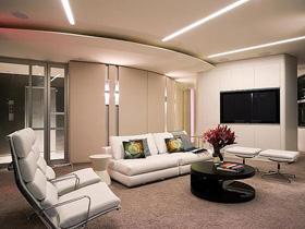 個性房型純白裝 現代簡約二居室