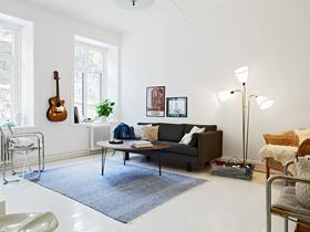 79平三口之家 歐式清新現代居