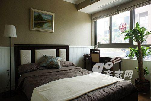 爱家mm设计新美式2居公寓 春暖花开(8)图片