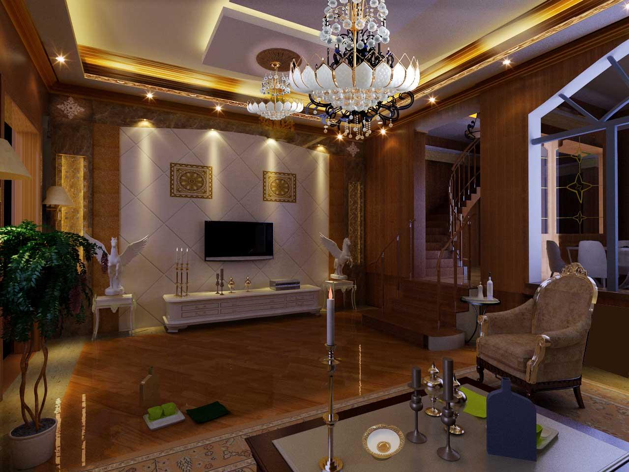 小复式装修; 居义装饰; 碧云左岸二期二手房出售,五室三厅四卫,10年图片