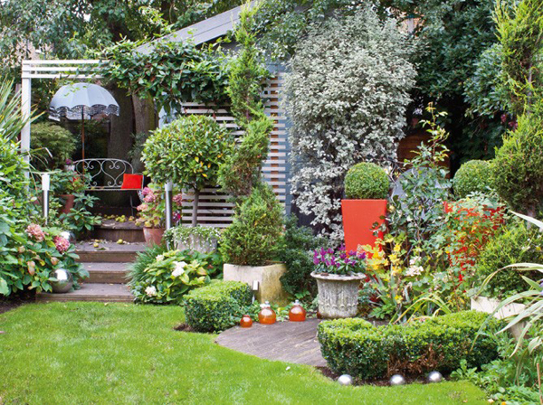 2015 - Maison jardin house plan villeurbanne ...