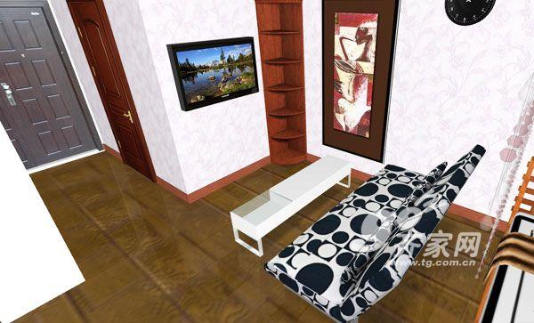 图赏:个性创意简约沙发床小户型居室搭配原创图片