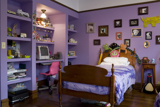 紫色装修效果图4