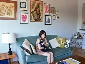 简约舒适居 80后夫妻携手打造经济型一居室