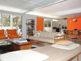 别墅装修玩色彩 活泼橙色让空间出挑