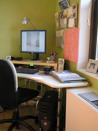 书桌装修效果图170