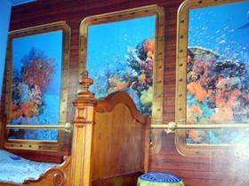 蓝色海底儿童房 开启神奇冒险之旅