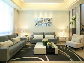 大氣藍灰色調 低調奢華別墅