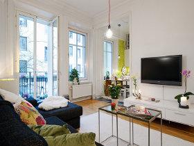 黑白極致簡約風 56平方精心設計的公寓