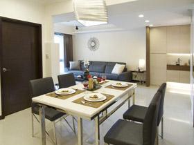 大氣玄關設計 現代簡約風三室兩廳