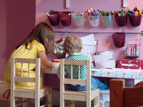 粉色儿童房 温暖色彩让孩子更活泼