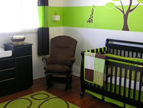 儿童房色彩搭配学:绿色激发无限活力