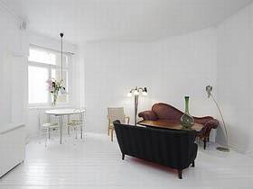 纯白印象 简欧舒适公寓房