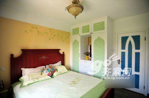 次卧卧室效果图手绘