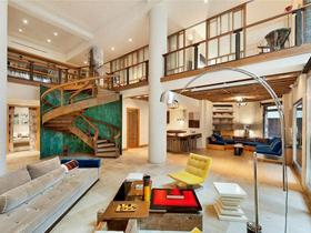 420平暖色豪華公寓 錯落有致的層次