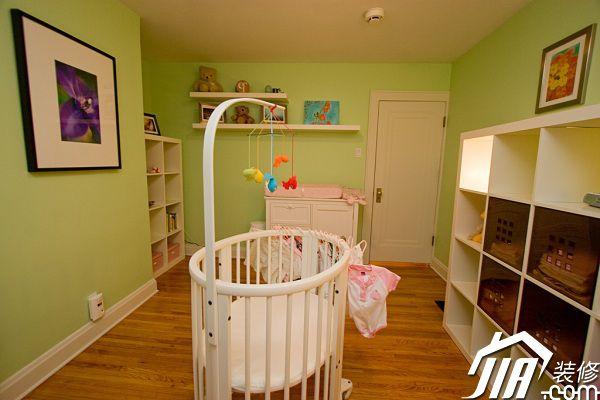 给宝宝一个可爱窝 12个温馨婴儿房设计