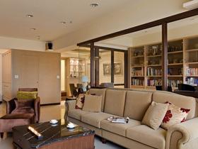 個性玻璃書房 120平簡歐風尚