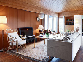 實木簡約別墅 設計師的溫馨家
