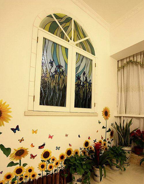 手绘墙效果图,手绘墙案例