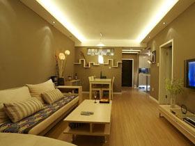 简约温馨家 16万打造时尚二居室