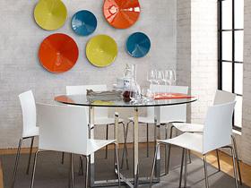 夏日清凉餐厅14个玻璃餐桌搭配方案