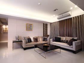 現代中式奢華風 簡約大氣公寓