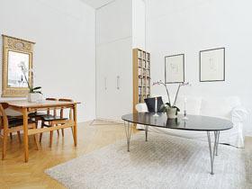 纯白境界 北欧风单身公寓