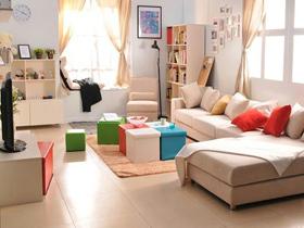 超强宜家收纳 6000元打造完美客厅