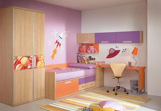 15款清新日式儿童房