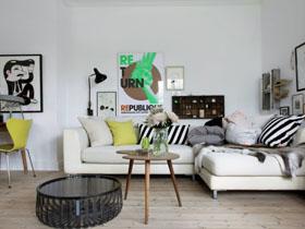 生活工作于一體 簡約純白一居室