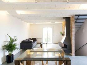 简洁古朴一居室装修 清新简约风格