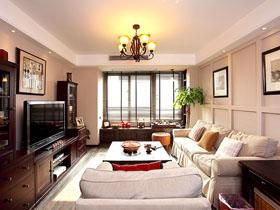92平中西合璧家 深棕色復古二居室