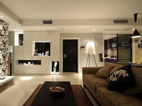 不規則格局設計 打造時尚現代婚房